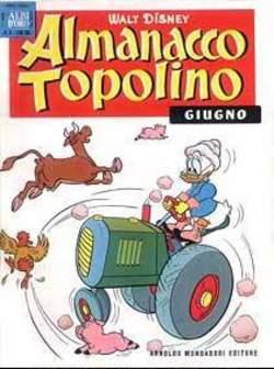 Copertina ALMANACCO TOPOLINO n.54 - ALMANACCO TOPOLINO 54, MONDADORI EDITORE
