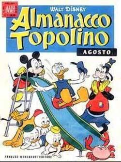 Copertina ALMANACCO TOPOLINO n.56 - ALMANACCO TOPOLINO 56, MONDADORI EDITORE