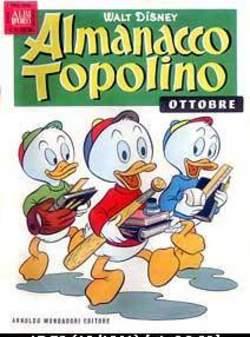 Copertina ALMANACCO TOPOLINO n.58 - ALMANACCO TOPOLINO 58, MONDADORI EDITORE