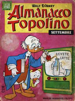 Copertina ALMANACCO TOPOLINO n.69 - ALMANACCO TOPOLINO 69, MONDADORI EDITORE