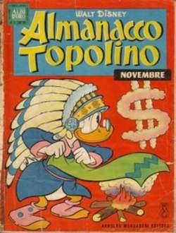 Copertina ALMANACCO TOPOLINO n.71 - ALMANACCO TOPOLINO 71, MONDADORI EDITORE
