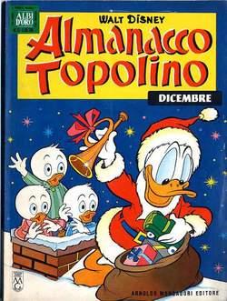 Copertina ALMANACCO TOPOLINO n.72 - ALMANACCO TOPOLINO 72, MONDADORI EDITORE