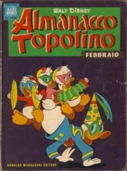 Copertina ALMANACCO TOPOLINO n.86 - ALMANACCO TOPOLINO          86, MONDADORI EDITORE