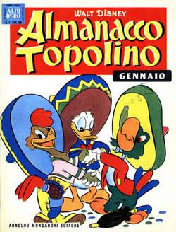 Copertina ALMANACCO TOPOLINO n.1 - ALMANACCO TOPOLINO 1, MONDADORI EDITORE