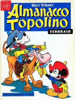 Copertina ALMANACCO TOPOLINO n.2 - ALMANACCO TOPOLINO 2, MONDADORI EDITORE