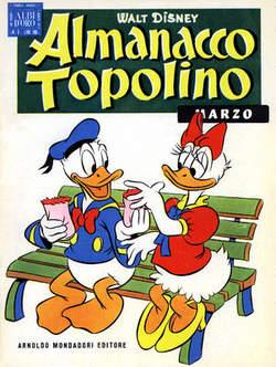 Copertina ALMANACCO TOPOLINO n.3 - ALMANACCO TOPOLINO 3, MONDADORI EDITORE