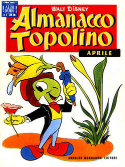 Copertina ALMANACCO TOPOLINO n.4 - ALMANACCO TOPOLINO 4, MONDADORI EDITORE