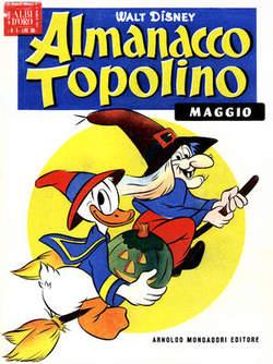 Copertina ALMANACCO TOPOLINO n.5 - ALMANACCO TOPOLINO 5, MONDADORI EDITORE