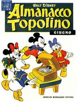 Copertina ALMANACCO TOPOLINO n.6 - ALMANACCO TOPOLINO  6, MONDADORI EDITORE