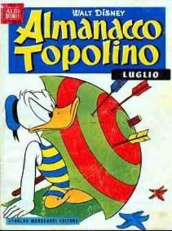 Copertina ALMANACCO TOPOLINO n.7 - ALMANACCO TOPOLINO  7, MONDADORI EDITORE