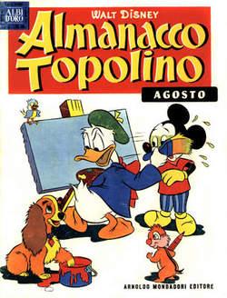 Copertina ALMANACCO TOPOLINO n.8 - ALMANACCO TOPOLINO  8, MONDADORI EDITORE