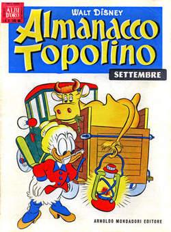 Copertina ALMANACCO TOPOLINO n.9 - ALMANACCO TOPOLINO  9, MONDADORI EDITORE