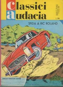 Copertina CLASSICI AUDACIA n.27 - SFIDA A RIC ROLAND RR, MONDADORI EDITORE