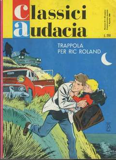 Copertina CLASSICI AUDACIA n.33 - TRAPPOLA PER RIC ROLAND RR, MONDADORI EDITORE