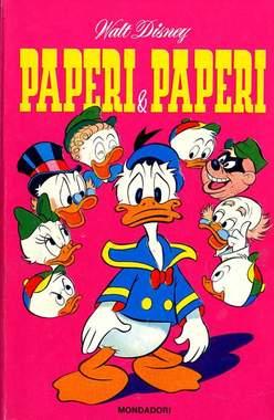 Copertina CLASSICI WALT DISNEY n.35 - PAPERI & PAPERI, MONDADORI EDITORE
