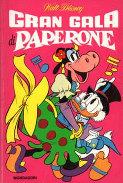 Copertina CLASSICI WALT DISNEY n.52 - GRAN GALA DI PAPERONE, MONDADORI EDITORE