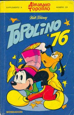 Copertina CLASSICI WALT DISNEY n.66 - TOPOLINO 76, MONDADORI EDITORE