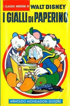 Copertina CLASSICI WALT DISNEY n.7 - I GIALLI DI PAPERINO, MONDADORI EDITORE