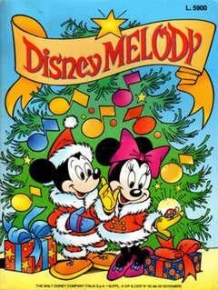 Copertina DISNEY MELODY n.3 - DISNEY MELODY 1993, MONDADORI EDITORE