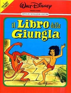 Copertina FILM DISNEY A FUMETTI n.3 - LIBRO DELLA GIUNGLA, MONDADORI EDITORE
