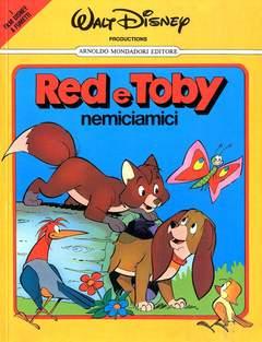 Copertina FILM DISNEY A FUMETTI n.1 - RED E TOBY, MONDADORI EDITORE
