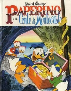 Copertina GRANDI CLASSICI DISNEY CARTONATI n.6 - Paperino e il conte di Monte Cristo, MONDADORI EDITORE