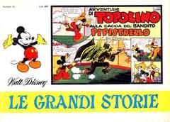 Copertina GRANDI STORIE 1967 n.12 - Avventure di Topolino alla caccia del bandito Pipistrello, MONDADORI EDITORE