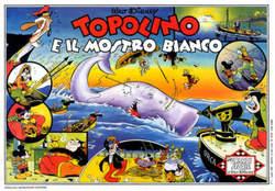 Copertina GRANDI STORIE n.1 - Topolino e il mostro bianco, MONDADORI EDITORE
