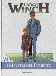 Copertina MAESTRI DEL FUMETTO n.14 - LARGO WINCH, MONDADORI EDITORE