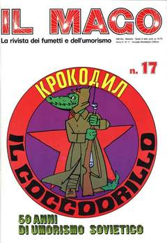 Copertina MAGO n.17 - MAGO                        17, MONDADORI EDITORE