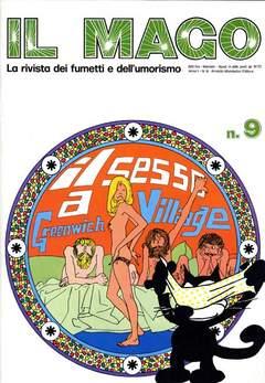 Copertina MAGO n.9 - MAGO                         9, MONDADORI EDITORE