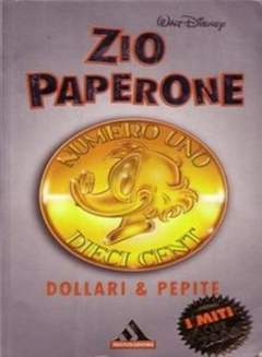 Copertina MITI n.142 - Zio Paperone dollari e pepite, MONDADORI EDITORE