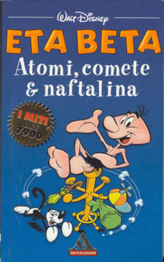 Copertina MITI n.212 - Eta Beta Atomi, Comete & Naftalina, MONDADORI EDITORE