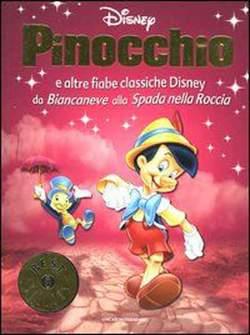 Copertina OSCAR BEST SELLERS n.1386 - Pinocchio e altre fiabe classiche Disney, MONDADORI EDITORE