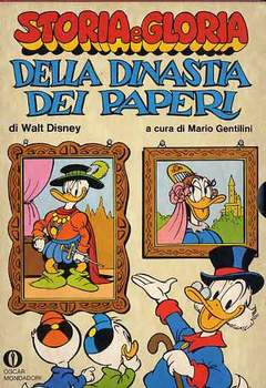 Copertina OSCAR COFANETTI n.7 - STORIA E GLORIA DELLA DINASTIA DEI PAPERI 1977, MONDADORI EDITORE