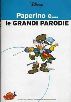 Copertina PAPERINO E... n.4 - Paperino e... le Grandi Parodie, MONDADORI EDITORE