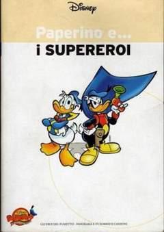 Copertina PAPERINO E... n.5 - Paperino e... i supereroi, MONDADORI EDITORE