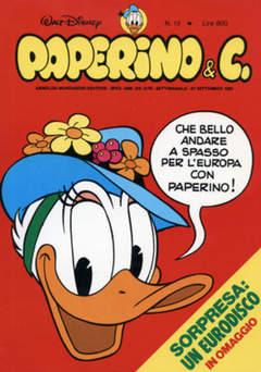 Copertina PAPERINO & C. n.13 - Paperino & C., MONDADORI EDITORE