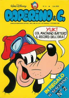 Copertina PAPERINO & C. n.14 - Paperino & C., MONDADORI EDITORE
