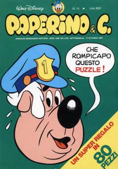 Copertina PAPERINO & C. n.15 - Paperino & C., MONDADORI EDITORE