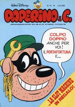 Copertina PAPERINO & C. n.16 - Paperino & C., MONDADORI EDITORE