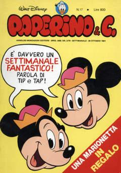 Copertina PAPERINO & C. n.17 - Paperino & C., MONDADORI EDITORE