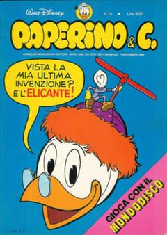 Copertina PAPERINO & C. n.18 - Paperino & C., MONDADORI EDITORE