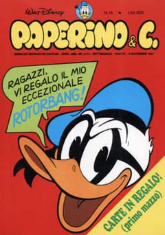 Copertina PAPERINO & C. n.19 - Paperino & C., MONDADORI EDITORE