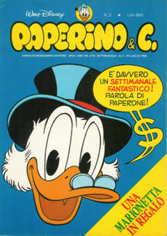 Copertina PAPERINO & C. n.3 - Paperino & C., MONDADORI EDITORE