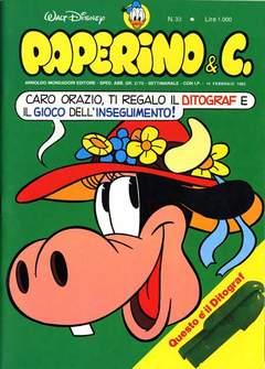 Copertina PAPERINO & C. n.33 - Paperino & C., MONDADORI EDITORE