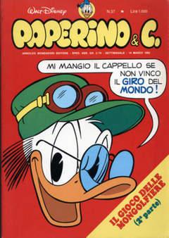 Copertina PAPERINO & C. n.37 - Paperino & C., MONDADORI EDITORE