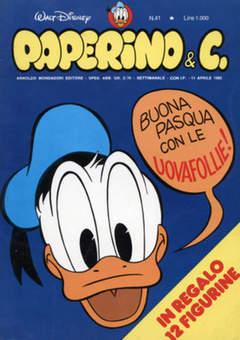Copertina PAPERINO & C. n.41 - Paperino & C., MONDADORI EDITORE