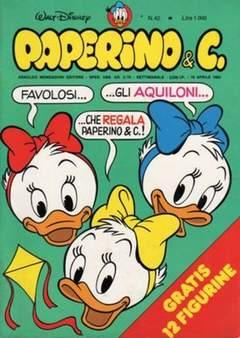 Copertina PAPERINO & C. n.42 - Paperino & C., MONDADORI EDITORE