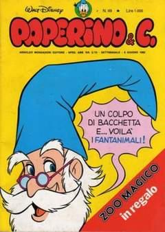 Copertina PAPERINO & C. n.49 - Paperino & C., MONDADORI EDITORE